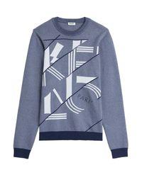 KENZO | Logo Statement Sweatshirt - Blue for Men | Lyst