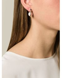 Uribe - Pink 'Camille' Opal Earrings - Lyst