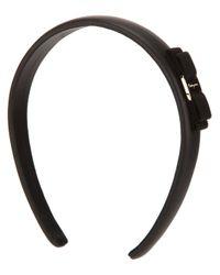Ferragamo - Black Hair Band - Lyst