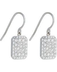 Finn | Metallic Scapular Drop Earrings | Lyst