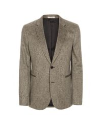 Paul Smith | Gray Two Button Tweed Blazer for Men | Lyst