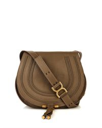 Chloé - Green Marcie Medium Leather Cross-Body Bag - Lyst