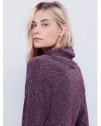 Free People | Purple By The Fire Mini Dress | Lyst