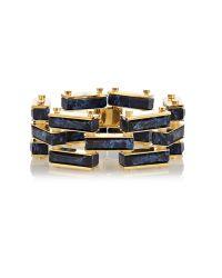 Lele Sadoughi | Garden Fence Bracelet, Iris Blue | Lyst