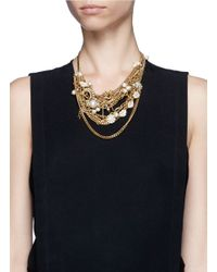 Lulu Frost - Metallic Bord La Mer Multi-chain Necklace - Lyst