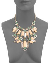 Kate Spade | Multicolor Centro Tiles Statement Necklace | Lyst