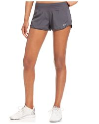 "Nike | Gray 3"" Crew Running Shorts 