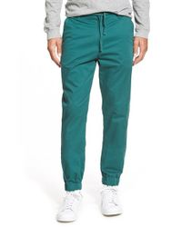 Katin | Green 'stage' Jogger Chinos for Men | Lyst