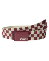 Vans - White Deppster Web Belt for Men - Lyst
