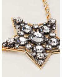 Lanvin | Metallic Star Necklace | Lyst