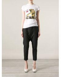 Stella McCartney - White Polar Bear Print T-shirt - Lyst