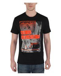 Bench | Black All Ways Graphic Crew Neck Regular Fit T-shirt for Men | Lyst
