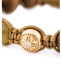 Shamballa Jewels | Brown Beaded Bracelet | Lyst