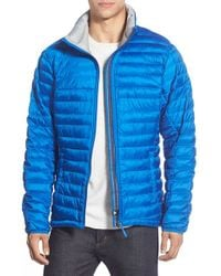Adidas | Blue 'frosty' Quilted Down Jacket for Men | Lyst