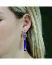Andrea Fohrman - Blue Australian Opal Earrings - Lyst