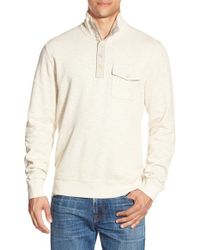 Lucky Brand | Natural Mock Neck Knit Pullover for Men | Lyst