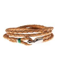 Miansai - Brown Trice Braided Bracelet for Men - Lyst