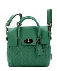 Mulberry - Green Lambskin Mini 'Cara Delevingne' Convertible Shoulder Bag - Lyst