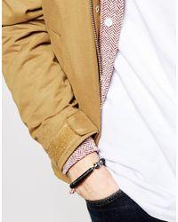 Vivienne Westwood | Black Bangle Bracelet for Men | Lyst
