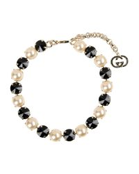 Gucci - Metallic Necklace - Lyst