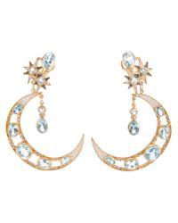 Percossi Papi - Metallic Crescent Earrings - Lyst