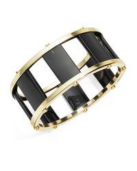 R.j. Graziano | Black Ladder Cuff Bracelet | Lyst