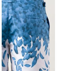 Orlebar Brown - Blue Bulldog Falling Feather Swim Shorts for Men - Lyst