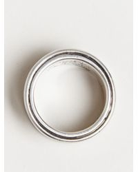 Ann Demeulemeester - Metallic Mens Large Ring for Men - Lyst