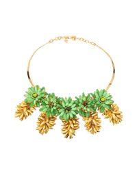 Tory Burch - Metallic Brynn Collar Necklace - Lyst
