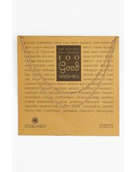 Dogeared - Metallic '100 Good Wishes' Long Station Necklace - Lyst
