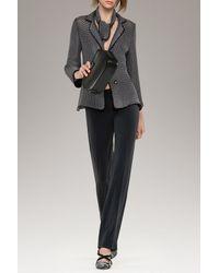 Armani   Gray Trousers In Wool Crêpe   Lyst