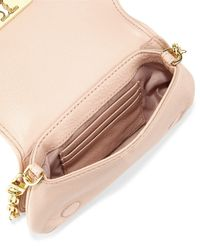 Tory Burch - Brown Britten Mini Crossbody Bag - Lyst