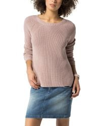 Tommy Hilfiger - Pink Flair Sweater - Lyst