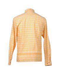 Ben Sherman - Orange Long Sleeve Shirt for Men - Lyst