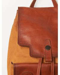 Free People - Brown Tracy Backpack - Lyst