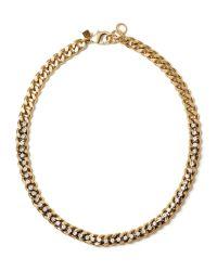 Banana Republic | Metallic Rope Chain Necklace | Lyst