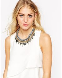 ALDO - Metallic Izzard Collar Necklace - Lyst