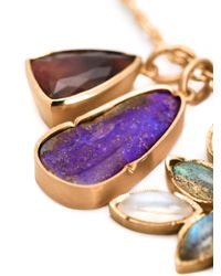 Irene Neuwirth | Metallic 18kt Gold And Mixed Gem Stone Necklace | Lyst