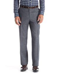 BOSS - Gray 'jeffrey Us' | Comfort Fit, Virgin Wool Dress Pants for Men - Lyst