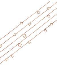 Dinny Hall | Metallic Rose Gold Vermeil Talitha Bracelet | Lyst