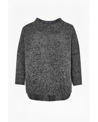 French Connection | Gray Rsvp Knitted Jumper | Lyst