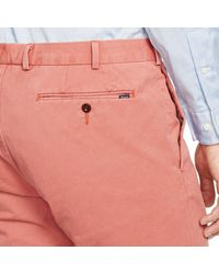 Polo Ralph Lauren | Pink Slim-fit Stretch-chino for Men | Lyst