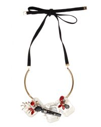 Marni | Multicolor Strass Necklace In Transparent | Lyst