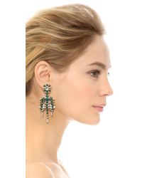 DANNIJO | Green Hilaria Earrings | Lyst