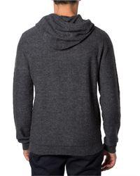 7 Diamonds - Gray Wool Blend Hoodie for Men - Lyst