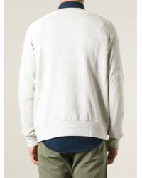 Hope - Gray Crew Neck Sweatshirt for Men - Lyst