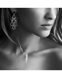 David Yurman | Ultramarine Chandelier Earrings With Blue Topaz And Black Orchid | Lyst