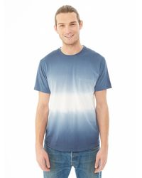 Alternative Apparel - Blue Cotton Modal Pocket Crew T-shirt for Men - Lyst