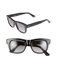 Gucci | Black 52mm Sunglasses for Men | Lyst