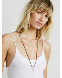 Free People | Metallic Rio Thread Necklace | Lyst